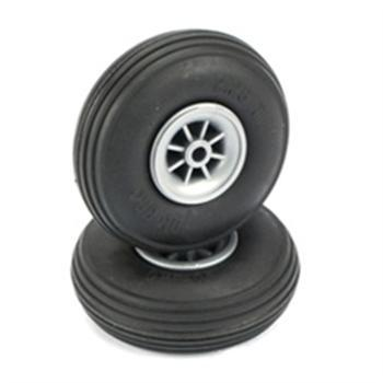"Dubro Treaded Wheels 2-1/4"" DUB225T"