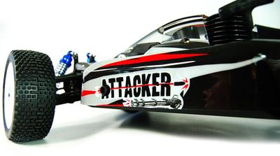 Attacker 1/8 Scale Nitro Rc Buggy