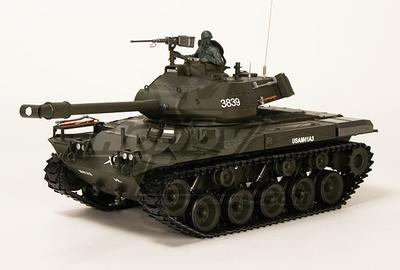 US-M41A3 Walker BullDog Light RC Tank RTR w/ Airsoft & Tx