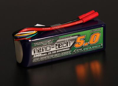 Turnigy nano-tech 5000mah 5S 35~70C Lipo Pack