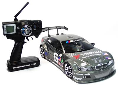 GS Racing Vision Pro RTR Nitro RC Car 2.4G
