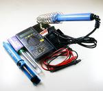 Electronic DIY Tool Set Multimeter/Iron/Desoldering pump/Solder wire/Iron stand/Rosin
