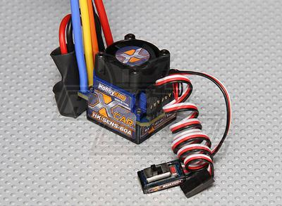 Hobby King 60A Sensored/Sensorless Car ESC (1:10/1:12)