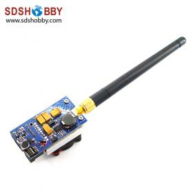 5.8G 1000mW 8 Channels Wireless AV Transmitter for FPV Aerial Photography with Transfer Line/ Antenna TX51W