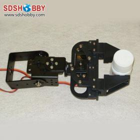 Super Robot Gripper for Aurduino Robot/2-free degree Gripper of Mechanical Arm (without servo)