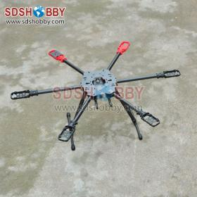 Hummingbird HM680 Foldable Carbon Fiber Hexrcopter/ Six-axle Rack / Frame (superior to Tarot 650)