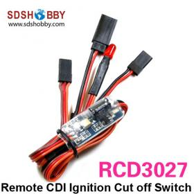 6-12V Remote CDI Ignition Cut off/Kill Switch RCD3027 for Gasoline Engine