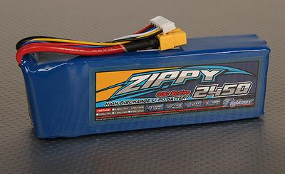 ZIPPY Flightmax 2450mAh 5S1P 30C