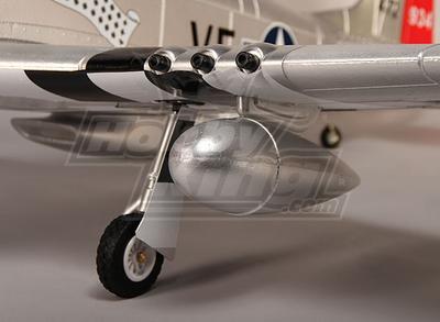 P-51D Shangri La 1600mm EPO w/Electric Retracts, Flaps, Lights (PNF) |  RCModelScout